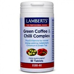 LAMBERTS GREEN COFFEE & CHILLI COMPLEX 60TAB