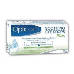 OPTICALM SOOTHING EYE DROPS PLUS  10AMPS