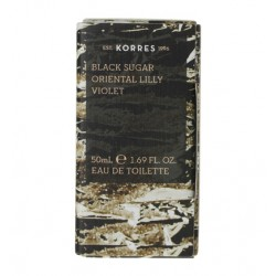 KORRES BLACK SUGAR ORIENTAL LILLY VIOLET EDT 50ML