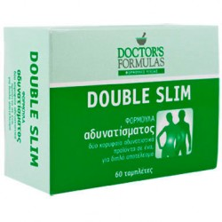 DOCTORS FORMULAS DOUBLE SLIM 60CAPS