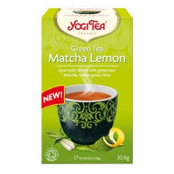 YOGI TEA MATCHA LEMON GREEN TEA 17TEM