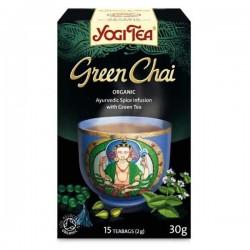 ΒΙΟ ΥΓΕΙΑ YOGI TEA GREEN CHAI 30.6GR
