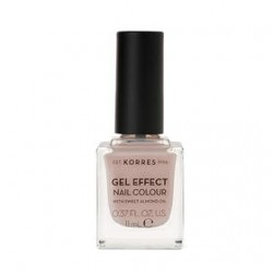 KORRES GEL EFFECT NAIL COLOR No 31 SANDY NUDE 11ML