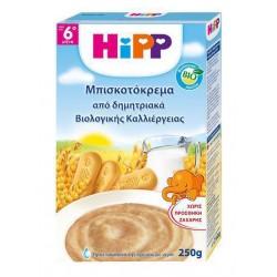 HIPP ΜΠΙΣΚΟΤΟΚΡΕΜΑ ΜΕ ΔΗΜΗΤΡΙΑΚΑ ΑΠΟ 6o MHNA 500GR
