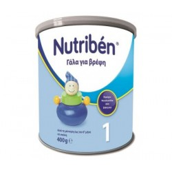 NUTRIBEN 1 ΓΑΛΑ 0-6 ΜΗΝΩΝ 400GR