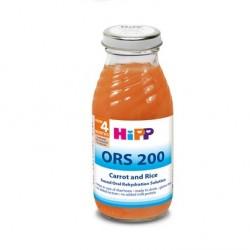 HIPP ORS ΧΥΜΟΣ ΕΠΑΝΕΝΥΔΑΤΩΣΗΣ ΚΑΡΟΤΟΥ ΜΕ ΡΥΖΙ 0,2L
