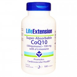 LIFE EXTENSION SUPER-ABSORBABLE COQ10 100 MG  100CAPS