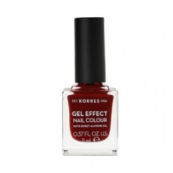 KORRES GEL EFFECT NAIL COLOR No 59 WINE RED 11ML
