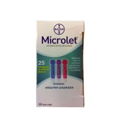 BAYER MICROLET ΣΚΑΡΦΙΣΤΗΡΕΣ 25s