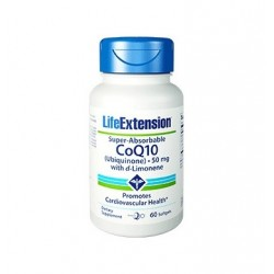 LIFE EXTENSION SUPER-ABSORABLE CoQ10 50MG 60CAPS