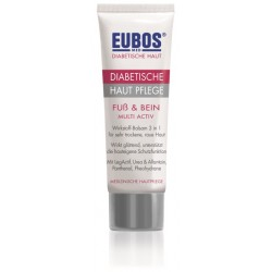 EUBOS DIABETICS FOOT & LEG MULTI-ACTIVE CREAM 100ML