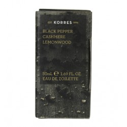 KORRES BLACK PEPPER CASHMERE LEMONWOOD EDT 50ML
