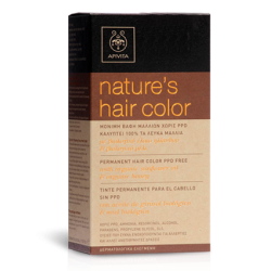 APIVITA  NATURE'S HAIR COLOR  7.47 ΜΠΕΖ  ΧΑΛΚΙΝΟ  -20%