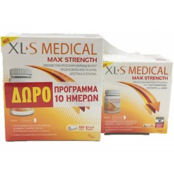 XL-S MEDICAL MAX STRENGTH 120TAB. &  ΔΩΡΟ 40TAB.
