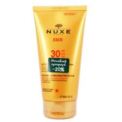 NUXE SUN MILK HIGH PROTECTION SPF30 FACE & BODY  150ML