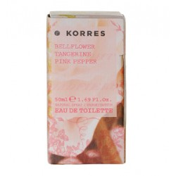 KORRES BELLFLOWER TANGERINE PINK PEPPER EDT 50ML