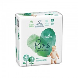 PAMPERS PURE PROTECTION ΜΕΓΕΘΟΣ 4 28ΤΕΜ
