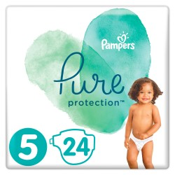 PAMPERS PURE PROTECTION ΜΕΓΕΘΟΣ 5 24ΤΕΜ