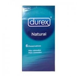 DUREX NATURAL 6TEM