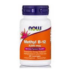 NOW METHYL B-12 5000MCG 60LOZ