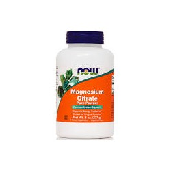 NOW MAGNESIUM CITRATE PURE POWDER 227G