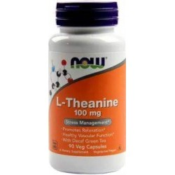 NOW L-THEANINE 100MG 90CAPS