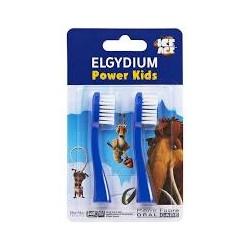 ELGYDIUM POWER KIDS REFILL I.A. BLUE  2TEM